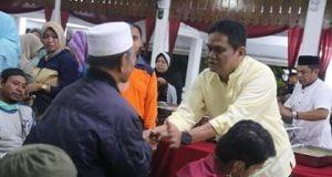 Bupati Barru Sambut Team Relawan Dan 40 Korban Bencana Dari Sulteng [Foto: Abd. LAtif Ahmad]