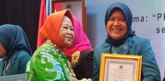 Penghargaan Pakarti Madiyah 1 tingkat Nasional [Foto: Abd Latif Ahmad]
