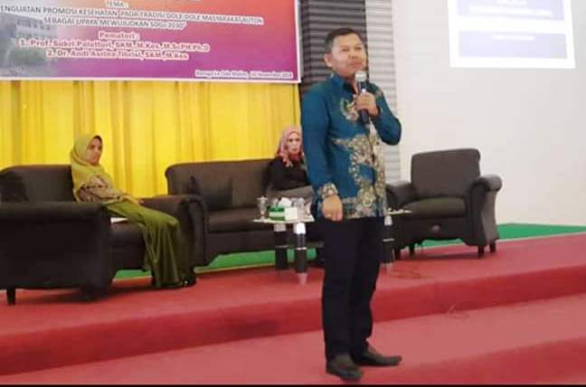 Ketua Perhimpunan Sarjana dan Profesional Kesehatan Masyarakat Indonesia (Persakmi) Wilayah IV meliputi Sulawesi, Kalimantan, Maluku, dan Papua, Prof Sukri Palutturi, PhD.[Foto:/Ist.]