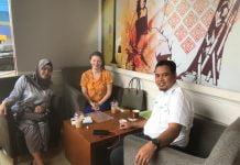 Ketua Umum IGI, Muhammad Ramli Rahim melakukan pertemuan perdana dengan perwakilan Tarsus Indonesia, membahas Global Education Support And Solution (GESS) 2019.[Foto:/Ist.]