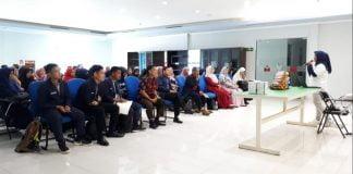 Kunjungan industri mahasiswa PNUP ke Mayora Group.[Foto:/Ist.]