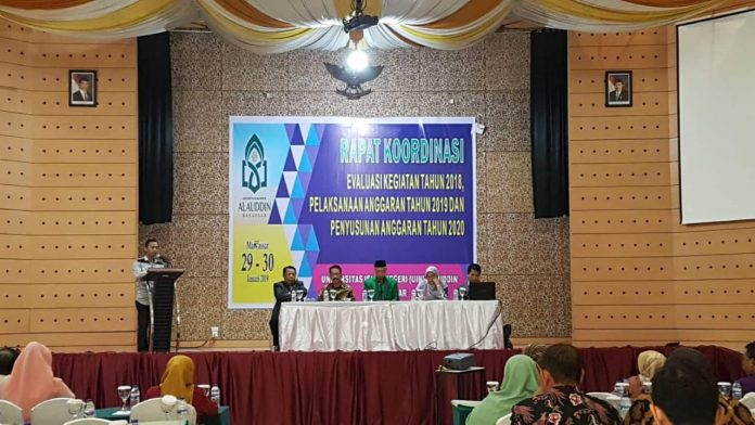Rapat Koordinasi UIN Alauddin Makassar.[Foto:/Ist.]