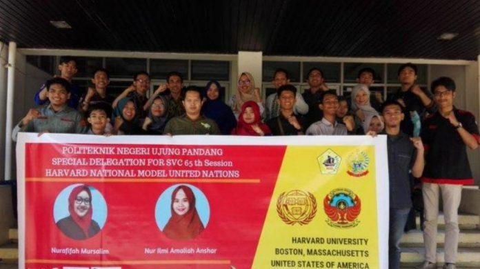 Dua mahasiswa PNUP bertolak ke Amerika Serikat menghadiri undangan HNMUN.[Foto:/Ist.]