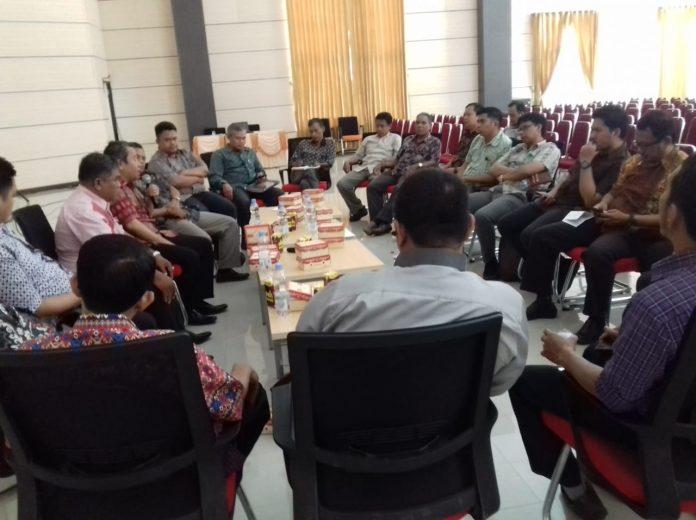 Suasana kajian rutin FEBI UIN Alauddin.[Foto:/Ist.]