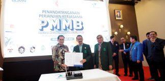 Penandatanganan MoU PT Pelindo IV dengan UIN Alauddin Makassar.[Foto:/Ist.]