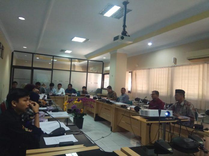 Suasana sosialisai peraturan rector terkait Ormawa di FKM Unhas.[Foto:/Ist.]