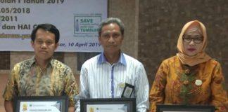 Penghargaan diberikan kepada UINAM atas peraihan peringkat pertama pelaksanaan dan pertanggungjawaban APBN.[Foto:/Ist.]
