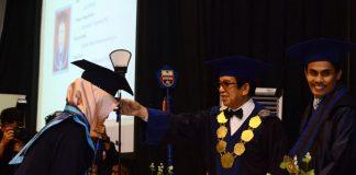 Pengukuhan 297 alumni Unibos.[Foto: Rahmat Saputra/Fajar Pendidikan]