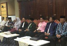 Pemaparan visi misi dan program kerja dari calon rector.[Foto:/Ist.]