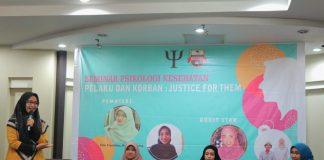 Seminar psikologi kesehatan Unibos.[Foto:/Ist.]