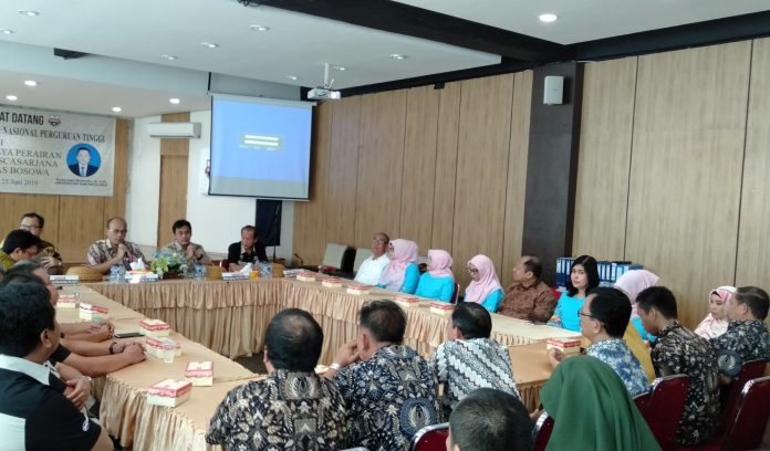Visitasi dalam rangka reakreditasi Program Studi S2 Budidaya Perairan Unibos. (FOTO: IST)