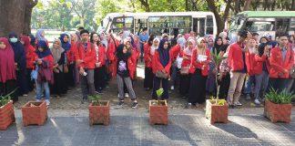 Pelepasan mahasiswa peserta PBL di Kabupaten Takalar.[Foto:/Ist.]