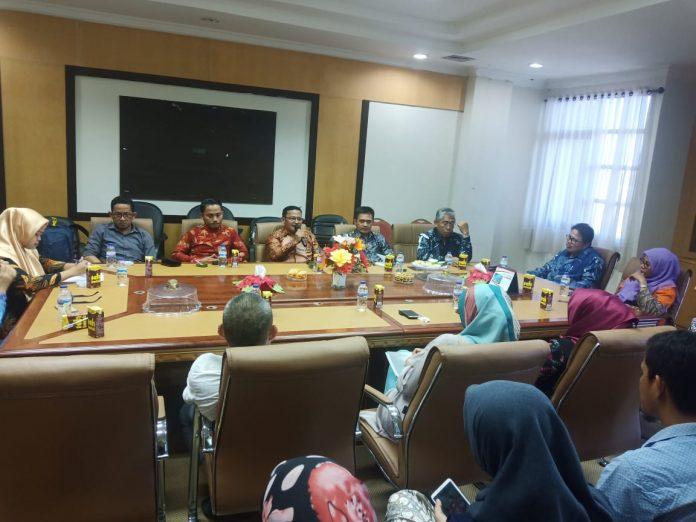 Kunjungan UIN Syarief Hidayatullah Jakarta ke UIN Alauddin Makassar.[Foto:/Ist.]